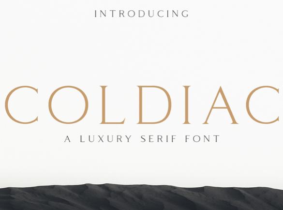 Coldiac | Top Fonts to Use on Posters
