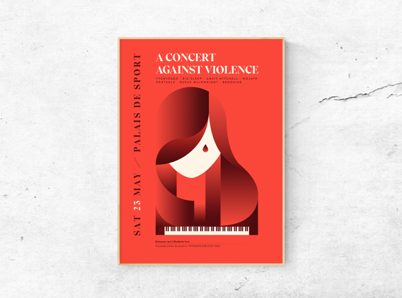 Geometric beauty | 5 Great Examples of Poster Design
