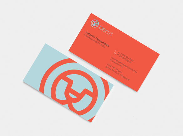 8. Contrasts | 9 Examples of Good Business Cards