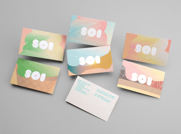 4. Soft and Sweet | 9 Examples of Good Business Cards