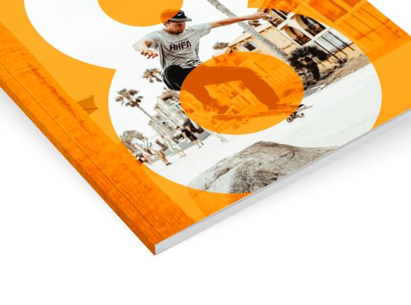 Encuadernación de catálogos al detalle   Catálogos Encolados