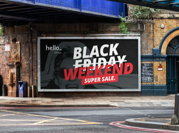 10 Black Friday Campaign Ideas | 9. No lo dejes pasar