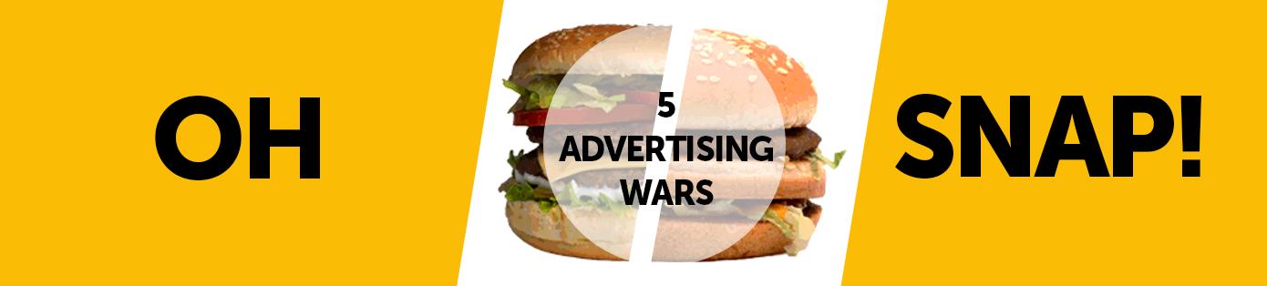5 Grandes Batallas Publicitarias entre Grandes Marcas