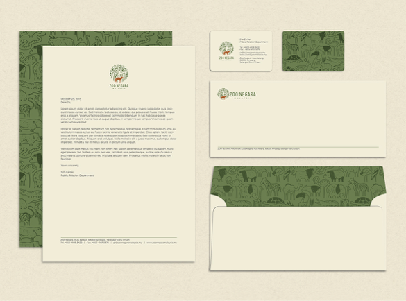 6. It's All in the Pattern | 10 Great Uses of Branded Stationery